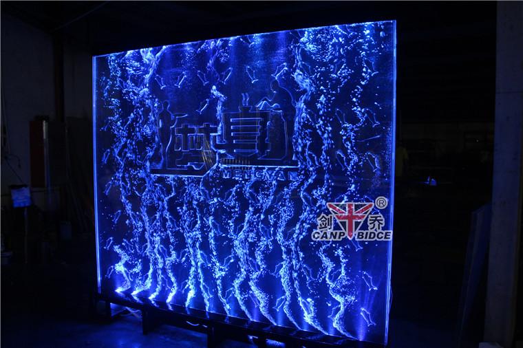 Restaurant Lobby Blue Mermaid Unique Aquarium Decorations With ...