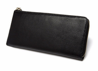 Boshiho genuine leather wallet ladies purse leather clutch bags