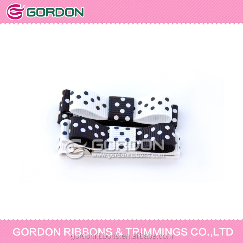 childrens hair bows polka dots bow tie,cheap hair bows