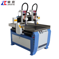 2 Spindle Head CNC Router Machine 6090