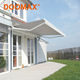 #DX100 Cheap Manual Metal Canopy Awning