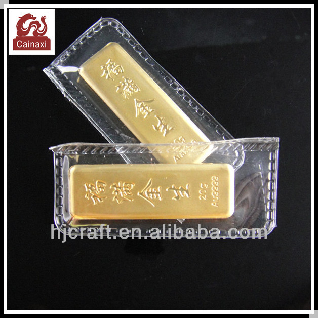 2014 Promotion Bullion Gold Bars Gold Bar Plated Pure Gold
