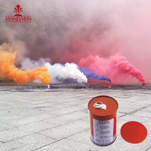 3 minutes put on the ground pull the lace powerful cans shape color smoke fireworks