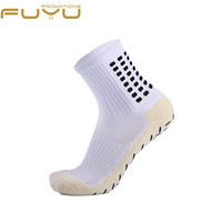 Top Quality Cotton Athletic Sport White Running Club Football Socks