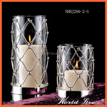 NHHJ206-2-S 2016 Sell Well Home Decorative Luxury Glass Candle Holder