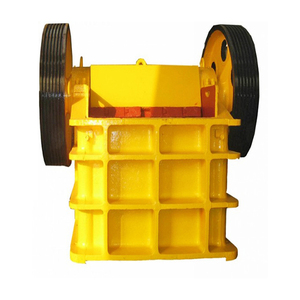 High Production Capacity and High Crushing Effciency tracked jaw crusher
