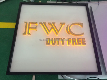 Front Store Led Sign Light Box Stores Advertising LIGHT BOX Illuminated Board Names