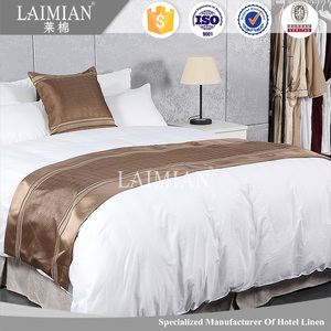 LAIMIAN hot hotel led throwies decoration bed runner