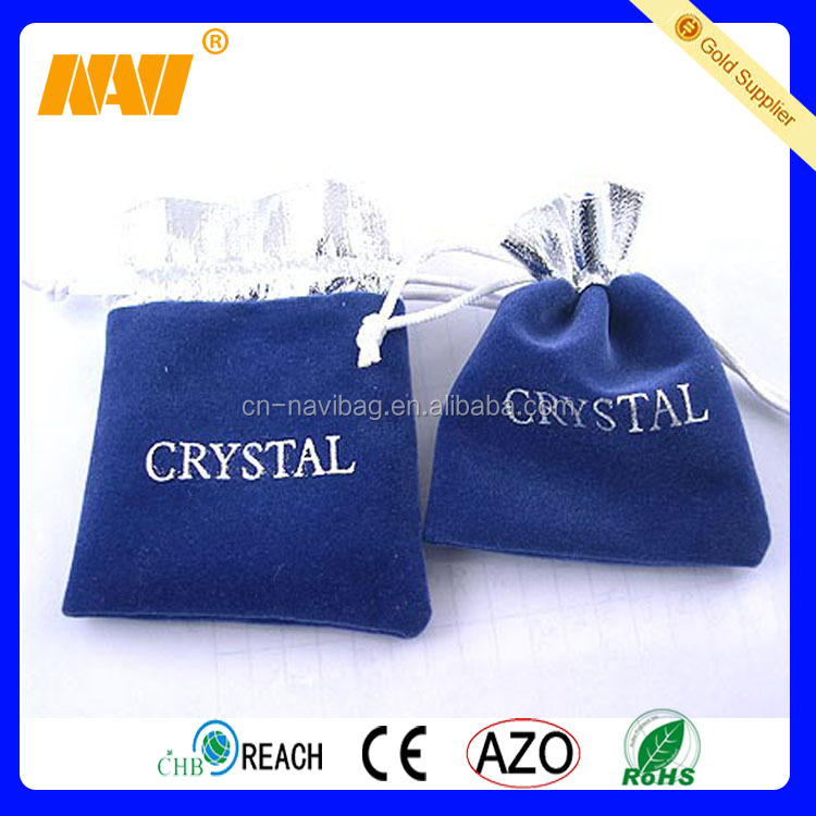 China professional factory produce small velvet bags for gifts