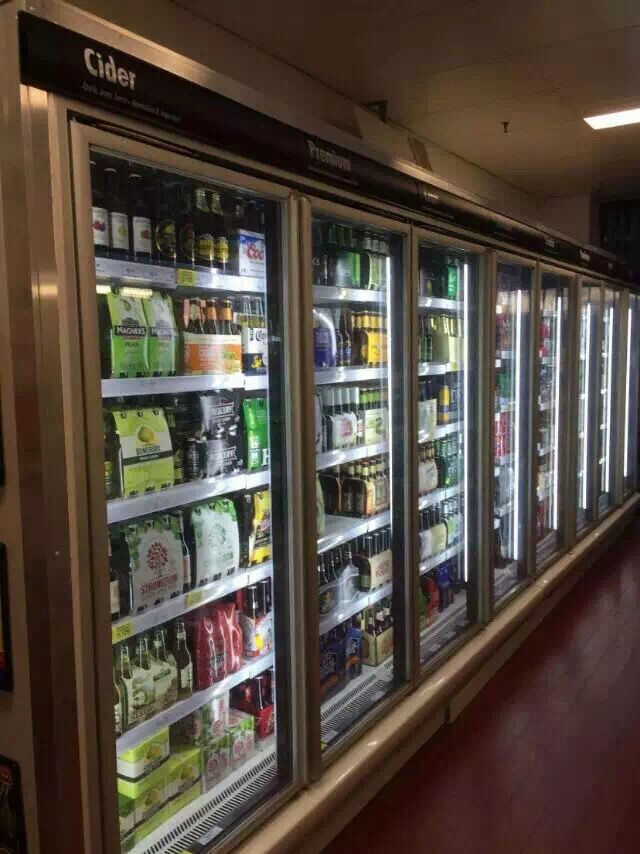Glass Door Refrigerator Used Convenience Store Equipment
