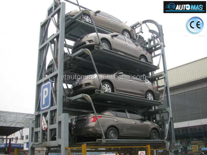 Rotary Parking System/Car Parking Systm has CE approved from China/Outdoor 8-14 cars Rotary Parking System