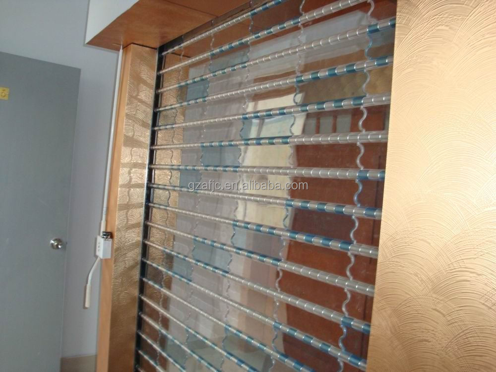 Guangzhou Rolling Shutter Door Polycarbonate Electric