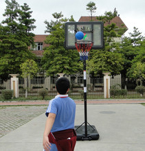 High quality Basketball stand Basketball Post Pole Height