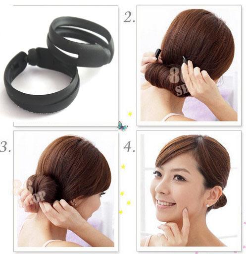 Admirable Twist Hair Bun Borbotta Com Short Hairstyles For Black Women Fulllsitofus