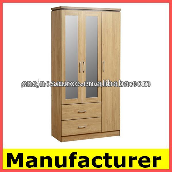 Con espejo de madera de armarios dormitorio armario mueble, espejo ...