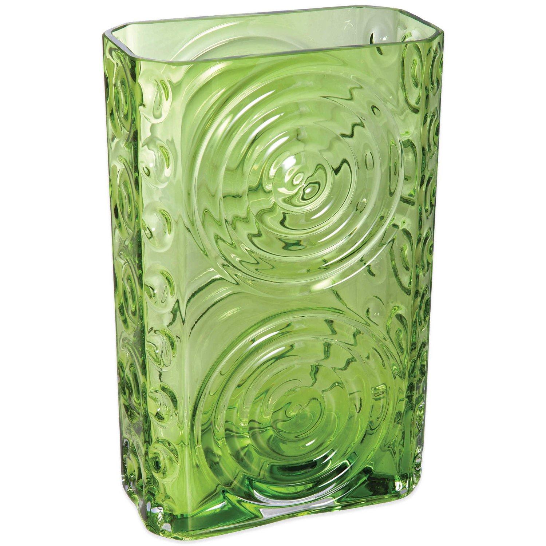Cheap long rectangular vase find long rectangular vase deals on get quotations dartington crystal echo rectangular vase in lime green reviewsmspy