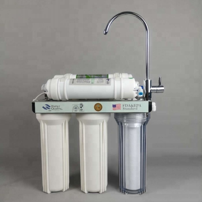 Supply 10 inch 5 stage driect tap drinkwater filter/PP UDF CTO UF T33 thuis pre filter