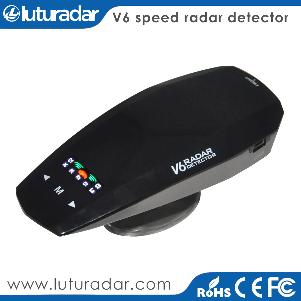 Best car anti radar detector hot sale product X K KA VG-2 Laser all band detection devices speed gun trap 360 degree radars