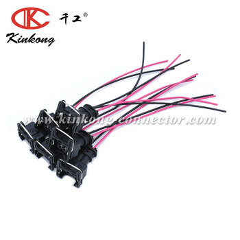 Female Fuel Injector Connector Electrical Plug Pigtail wiring harness WA029