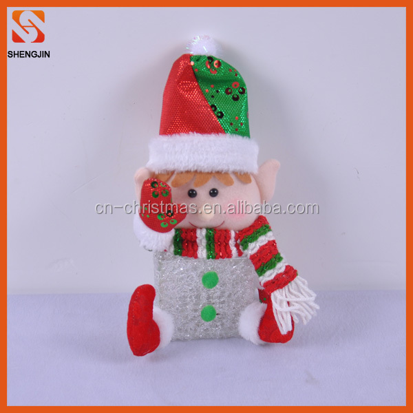 2016 new wholesale mini lighting EVA elf toy