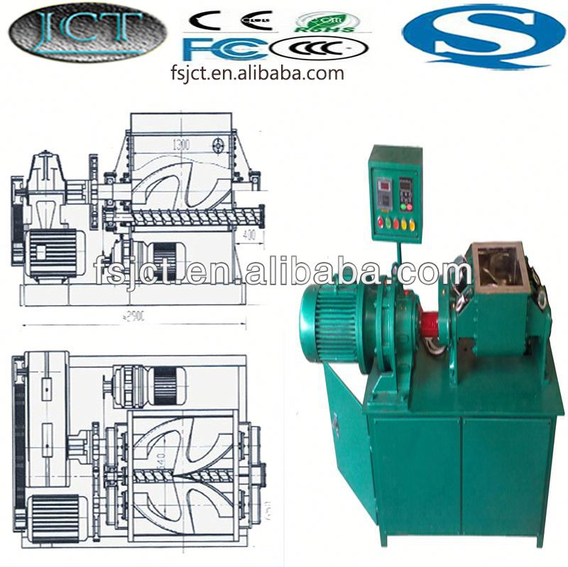 high quality and multi functional kneader making machine used for brazil rubber sandals NHZ-500L