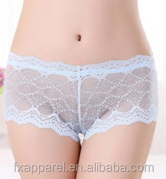 panties Girls in sheer lace