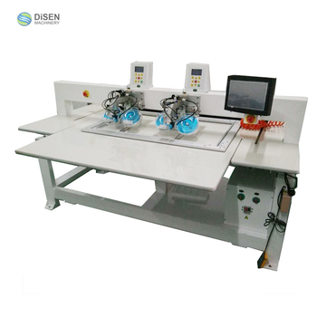 High productive efficiency auto two head two color double discs rhinestone hotfix machine