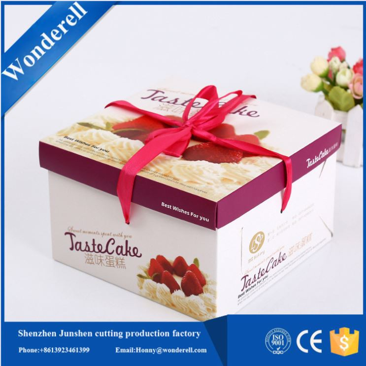 Eco cute paperboard packing presentation box a3