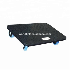 Heavy Duty Easy Moving Plywood Multifunctional Pallet Dolly