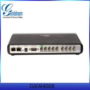 Grandstream GXW4008 IP voice gateway with 8 FXS Port with PSTN life-line