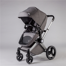 en1888 china manufacturer baby stroller 3 in 1 luxury