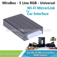 Carplay Device MiraBox WiFi for smartphone Mirrorlink function stream apps to Car screen / dvd car audio navigation system