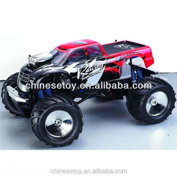 1/8 Two Engines 30CC RC Nitro Gas Powered Giga Crusher DF 4WD Nitro R/C Monster Truck
