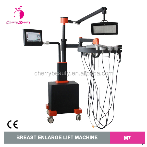 Infrared heat activation Bio Electro-Stimulation vacuum suction breast enlarge machine