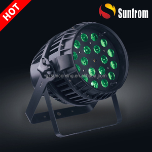 IP65 waterproof zoom dmx512 led mini par lights