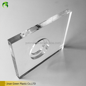 Green 2016 eco Low Price solid surface perspex 48x96'' plexi glass transparent and colorful acrylic sheet