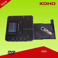 koho kr02 portable vhs media dvd combo recorder