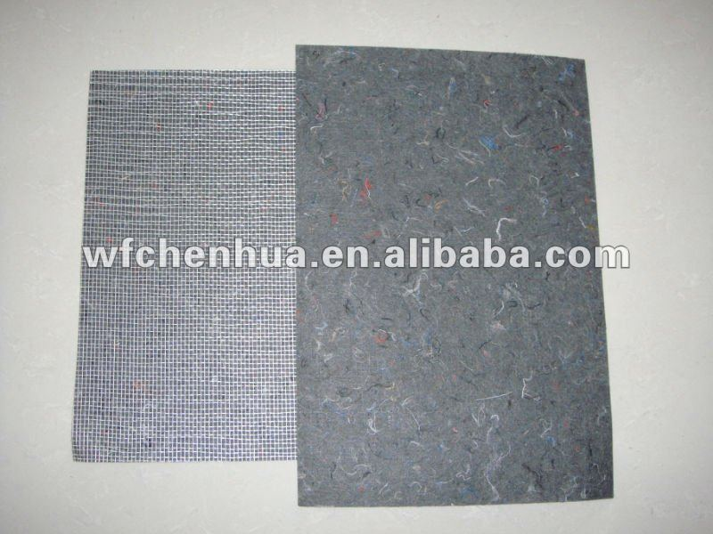 fiberglass and nonwoven fabric composite mat