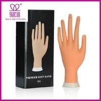 Acrylic nails practice soft hand&nail art training hand