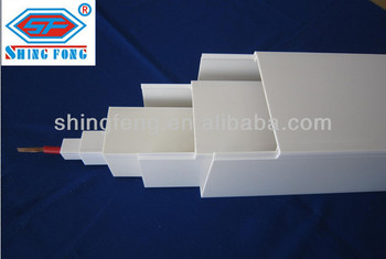 Fire Proof Electrical Pvc Wiring Trough - Buy Pvc Wiring Trough,Pvc on