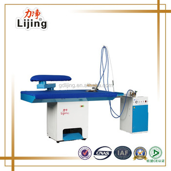 2016 Newly Updated Vacuum Steam Iron Table With Boiler For Laundry ...