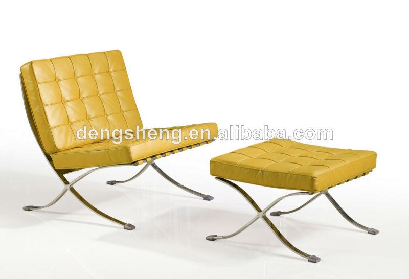 silla moderna de descanso barcelona con reposapi s by0401