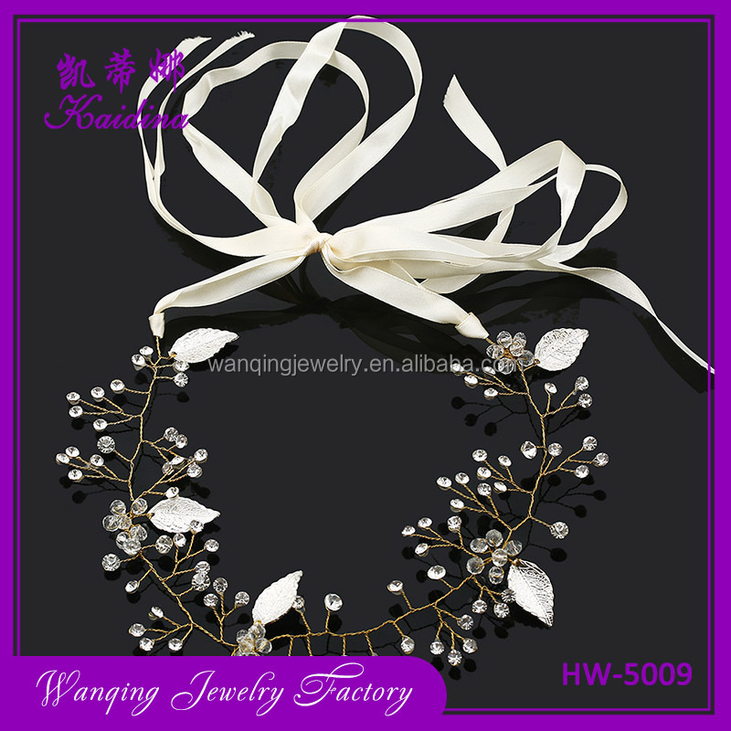 New fashion wedding wholesale hair accessories bridal hair accessory hairband