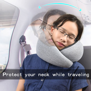 2018 Best travel cervical pillow memory foam neck support pillow