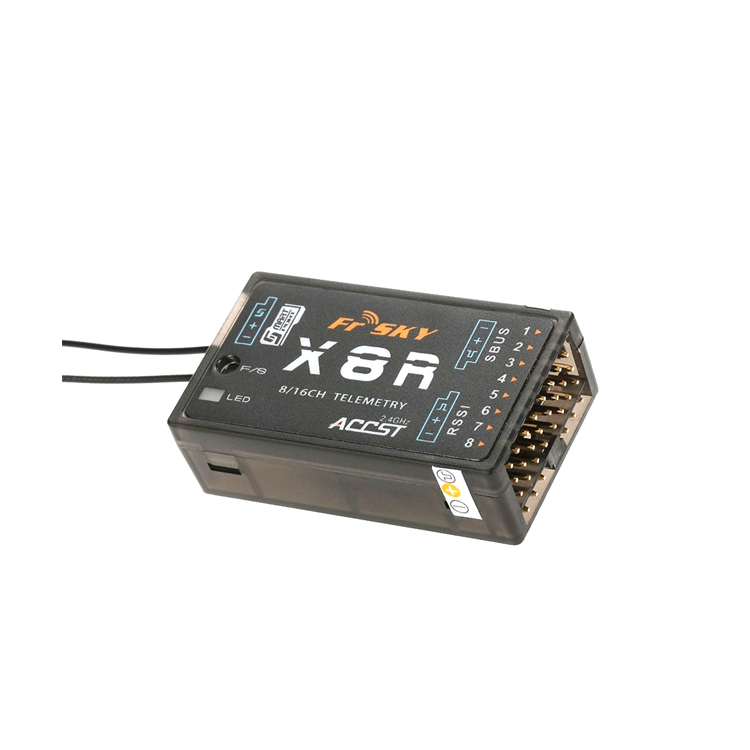 FrSky X8R 2.4ghz ACCST and RSSI and SBUS Frsky Taranis Transmitter Receiver for FPV rc drone quadcopter