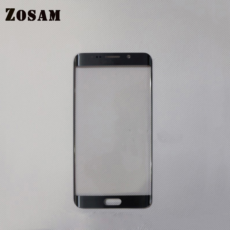 Usd to N8 S7 S9 LCD edge touch screen glass with frame for mobile phone outside
