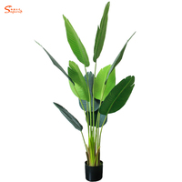 Cheap Wholesale Custom Indoor Small Artificial Potted Banana Plants