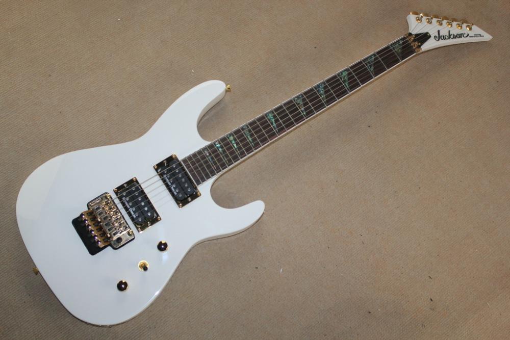 alpine white jackson electric guitar contour body abalone inlays jackson guitar with seymour. Black Bedroom Furniture Sets. Home Design Ideas