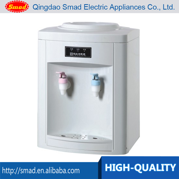 Home appliances hot and cold table top water dispenser