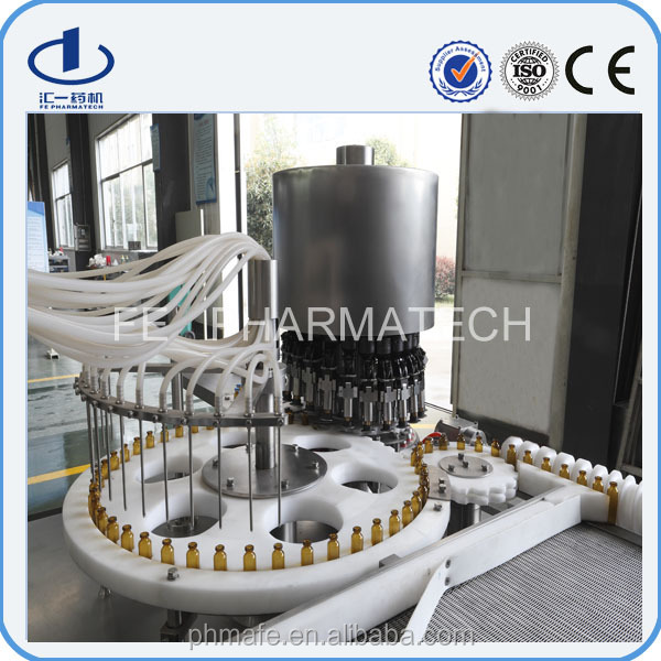 Small Vial Liquid Filling and Rubber Stoppering Machinery